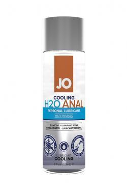 JO Охлаждающий лубрикант  на водной основе Anal H2O Cool, 60 мл.