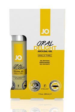 JO Гель для оральных ласк с десенсибилизацией Oral Delight - Vanilla