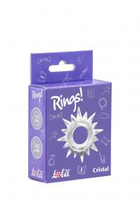 Эрекционное кольцо RINGS CRISTAL WHITE