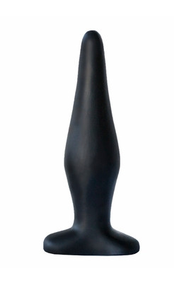 Анальный плаг чёрный 4234