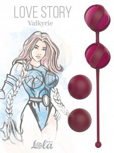 Набор вагинальных шариков Valkyrie красные