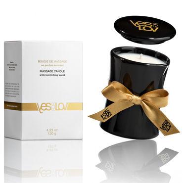 Массажная свеча YES for LOV с чарующим ароматом 120гр