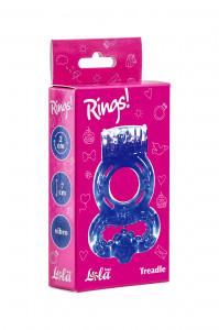 Эрекционное кольцо Treadle фиолетовое