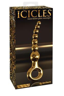 Анальный стимулятор Icicles Gold Edition G09 - Gold