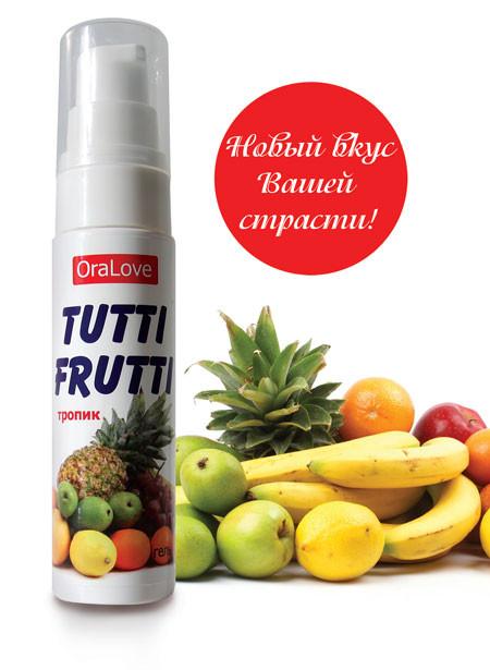 "Гель ""Tutti-frutti тропик"" серии ""oralove"" 30г"