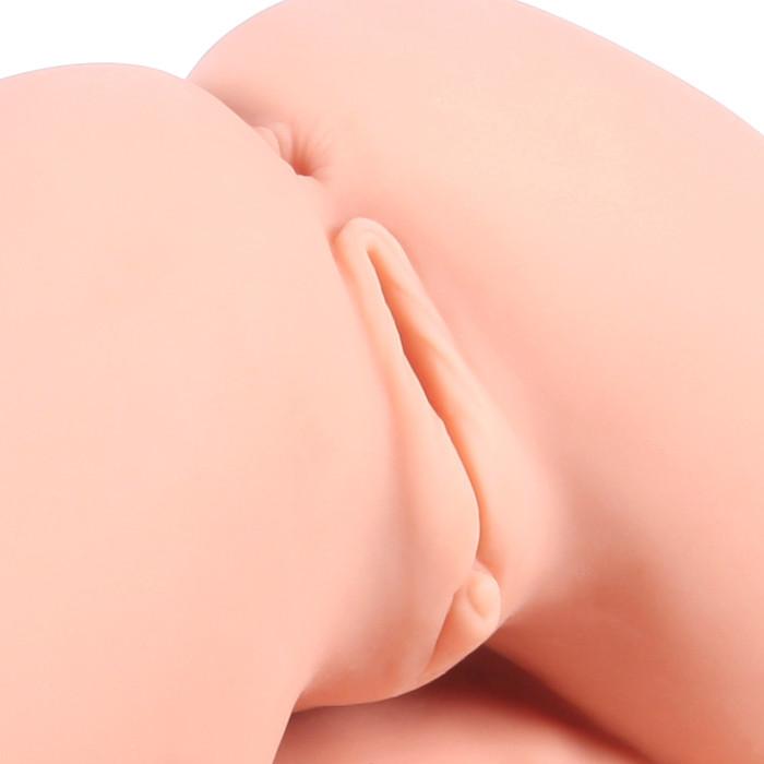 Мастурбатор 3D вагина, анус полуторс, с двойным слоем