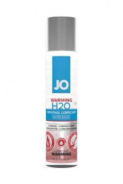 Классический возбуждающий лубрикант на водной основе JO H2O Warming, 30мл