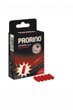 Капсулы возбуждающее для женщин PRORINO LIBIDO 5 шт