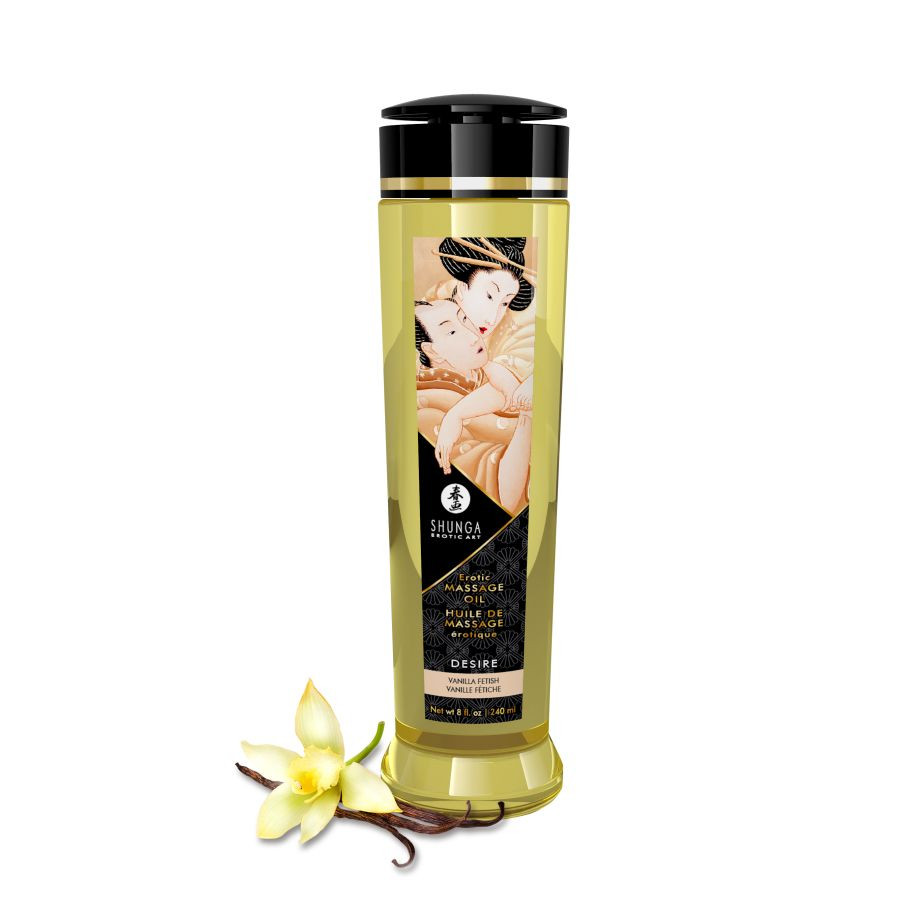 Масло Shunga Erotic Massage Oil Ваниль, 240мл мл