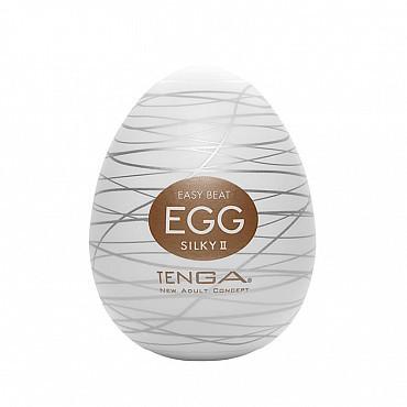 Мастурбатор яйцо Tenga egg SILKY 2