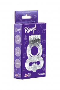 Эрекционное кольцо Rings Treadle white