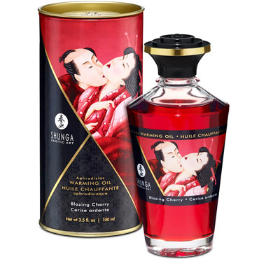 "Масло ""Интимный поцелуй"" Shunga Cherry, 100 мл."