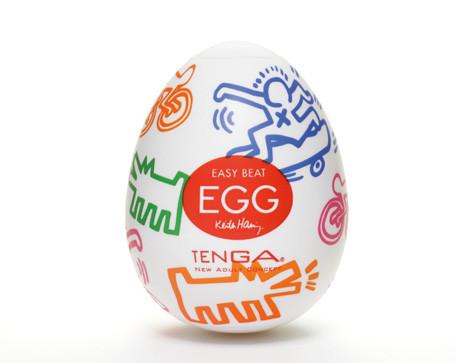 Мастурбатор яйцо Tenga egg Keith Haring Street
