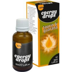 Капли для двоих Hot Energy Drops Taurin & Guarana 30 мл.