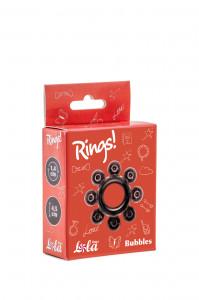Эрекционное кольцо RINGS BUBBLES black