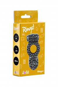 Эрекционное кольцо Rings Ringer black